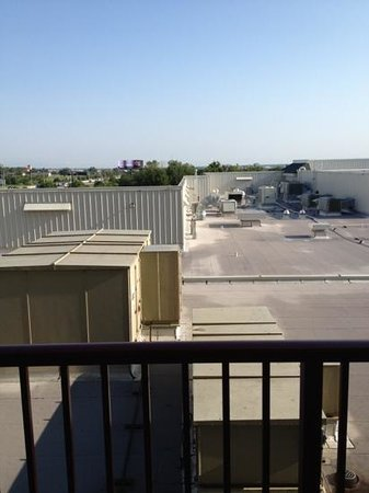 Renaissance Tulsa Hotel & Convention Center: View from our balcony...