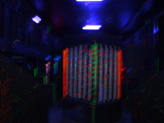 Planet Lazer: Inside the arena!