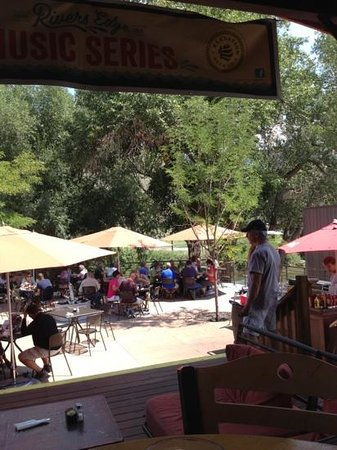 River's Edge: a must stop in Salida