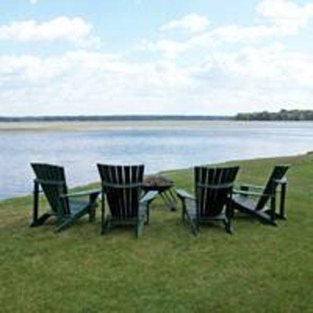 Leech Lake B&B: View of Lake