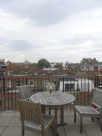 Cranley Hotel : Penthouse Suite Balcony
