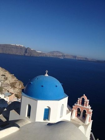 VIP Suites: our balcony view:) amazing santorini