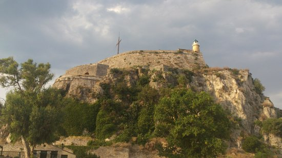 Old Fortress Corfu: Top of the fortress