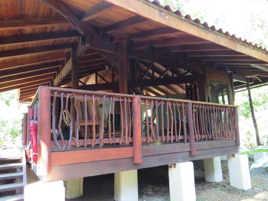Playa Nicuesa Rainforest Lodge: Our cabin
