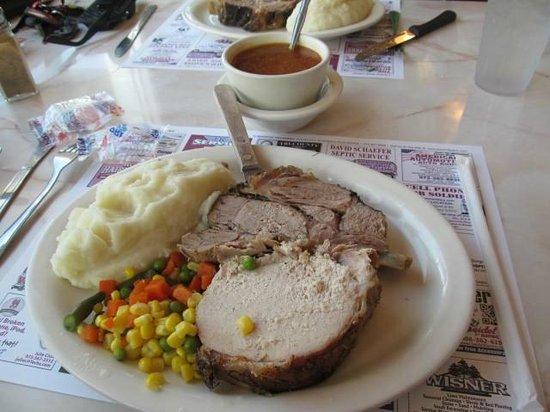 Blairstown Diner: Pork Loin Platter