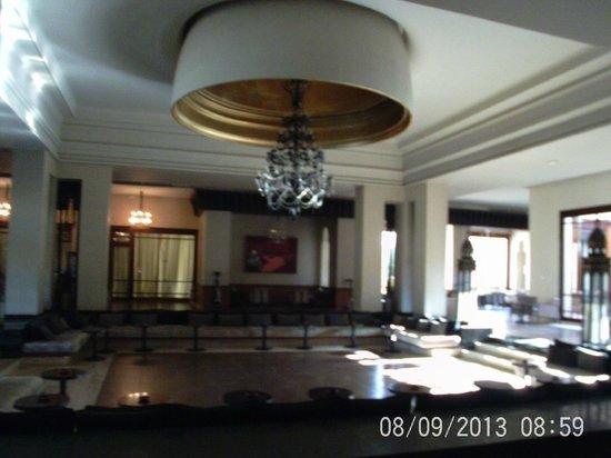 ClubHotel Riu Tikida Palmeraie: Lounge area