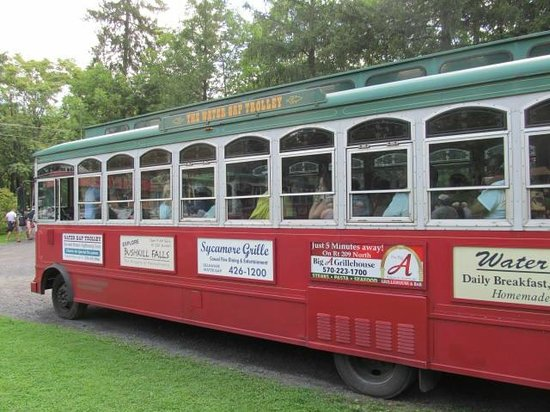 Delaware Water Gap, Pensilvania: Trolley