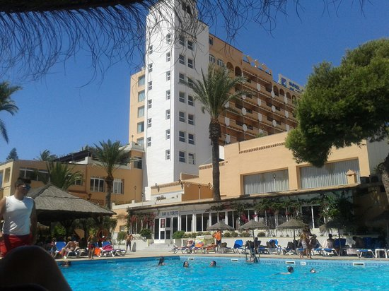 Playadulce Hotel: buena terraza