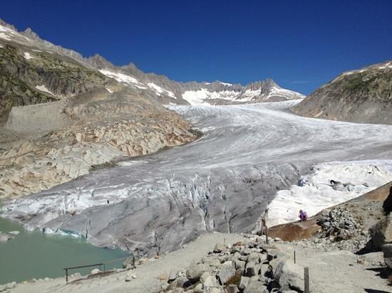 Gletsch, Szwajcaria: Rhone glacier grotto