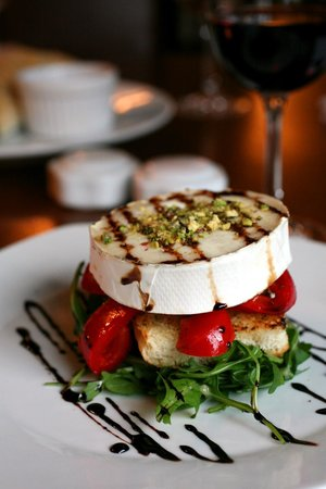 The Glasshouse Brasserie: Goats cheese