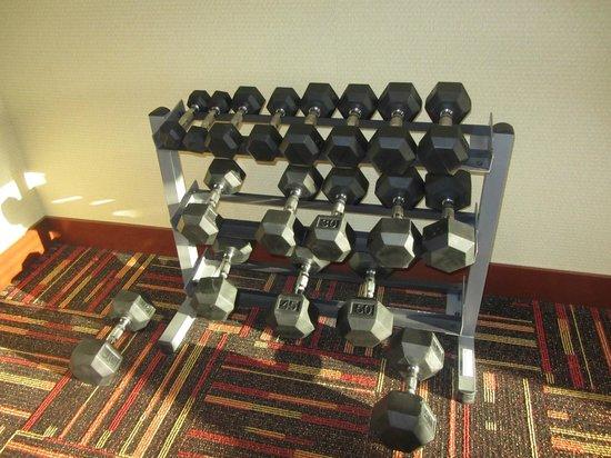 Holiday Inn Express Suites Chehalis - Centralia: Gym