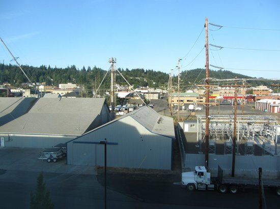 Holiday Inn Express Suites Chehalis - Centralia: View from room