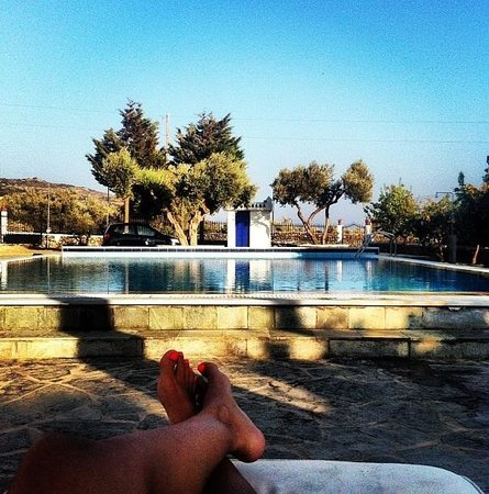 Villa Antoniadis: Στην πισίνα