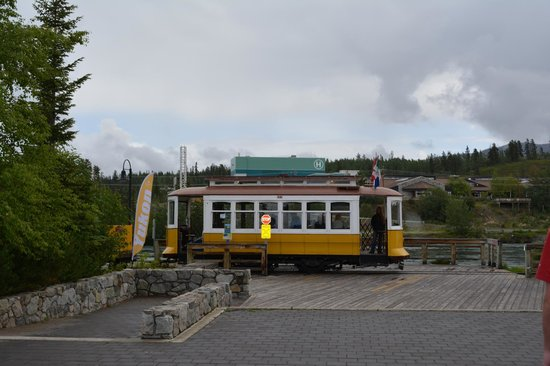Waterfront Trolley at Visitor Center Stop
