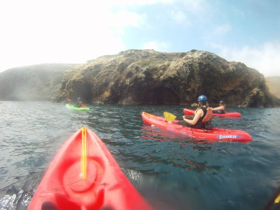 Paddle Sports Center: Kayaks and caves