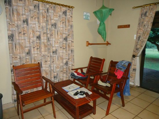 Ndumo Rest Camp: Inside the chalet