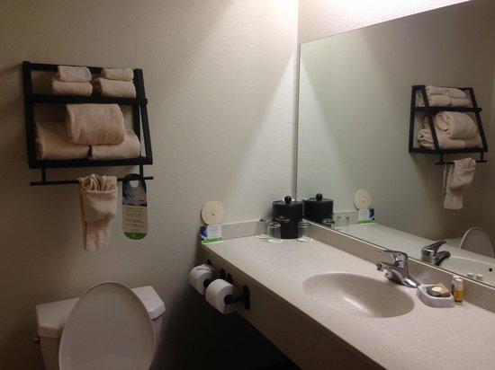 Wuksachi Lodge: Bathroom