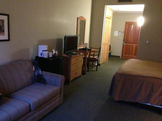 Wuksachi Lodge: Deluxe King room