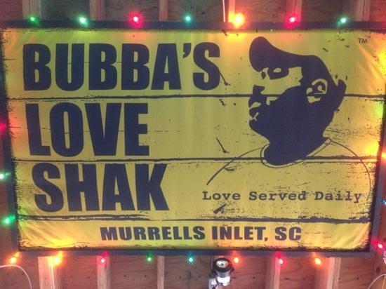 Bubba's Love Shak : Inside Bubba's
