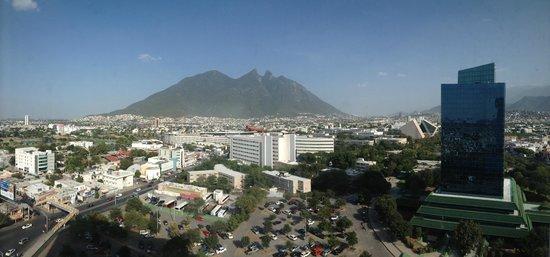 Fiesta Inn Monterrey Tecnologico: Vista espectacular desde el piso 12