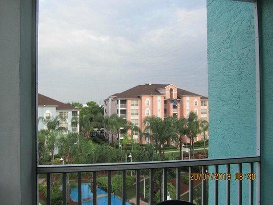Grande Villas Resort: Nossa vista era para o interior do hotel. Ótimo.