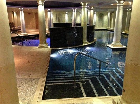 The gorgeous spa...