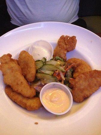 Clancy's Bar & Restaurant : chicken goujons