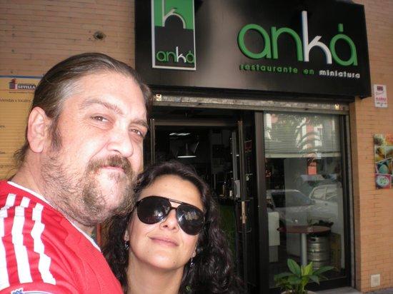 Anka Restaurante en Miniatura: Romantic lunch