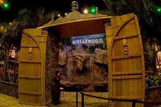Hollywood Palms Cinema: The doors in the lobby