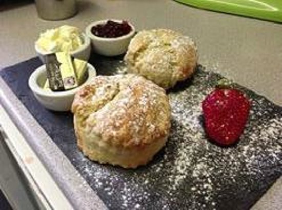 Lemana: Traditional Cream Tea with homemade Scones baked daily