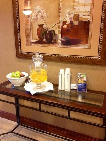 Hampton Inn & Suites Ocala - Belleview : A nice touch.