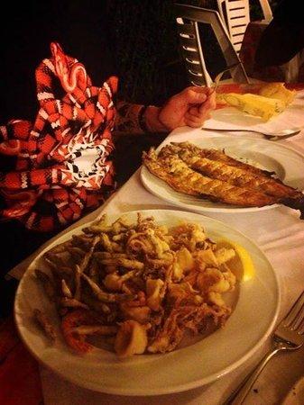 San Felice del Benaco, Italien: Pesce fritto e alla griglia