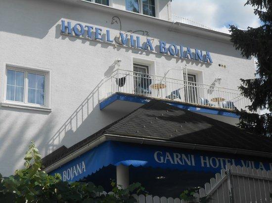 Garni Hotel Vila Bojana: Entrata dell'Hotel Bojana