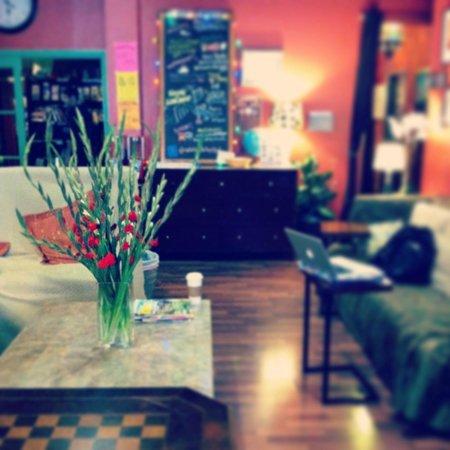 Adelaide Hostel: Living Room