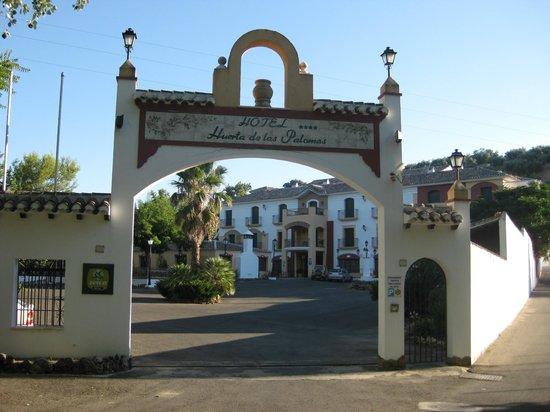 Hotel Rural Huerta de las Palomas: Entrada Hotel