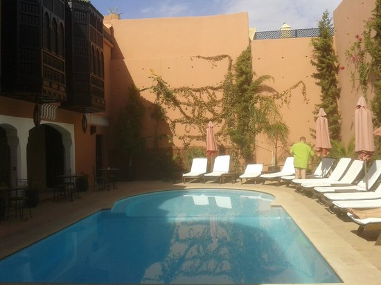 Les Borjs de la Kasbah: piscine