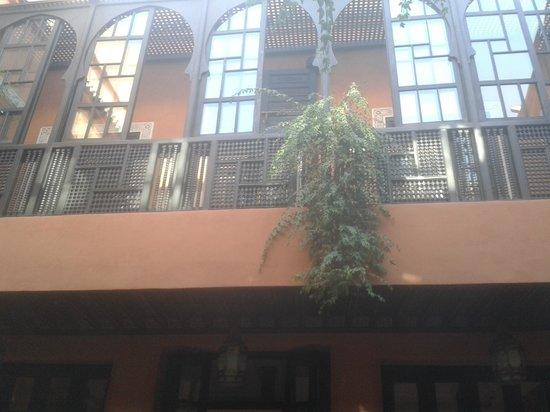 Les Borjs de la Kasbah: vu de l'entree de la chambre