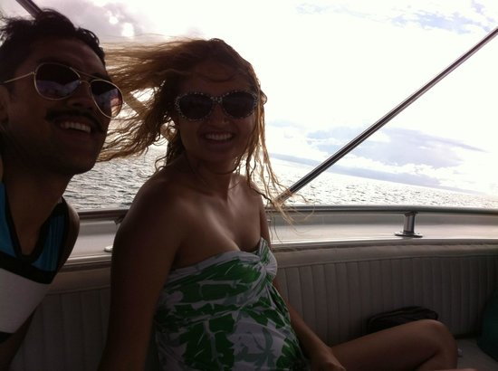 Panama Yacht  Adventures Day Tours: with my darling