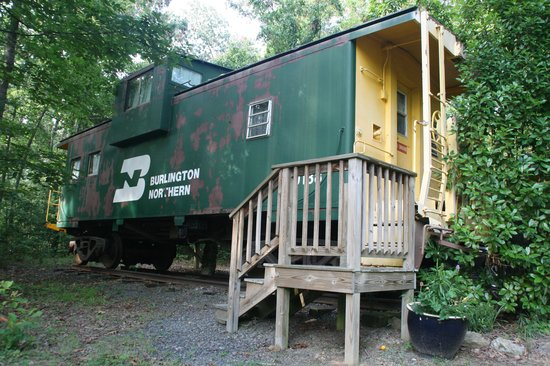 Heavenly Acres Campground: Our Caboose