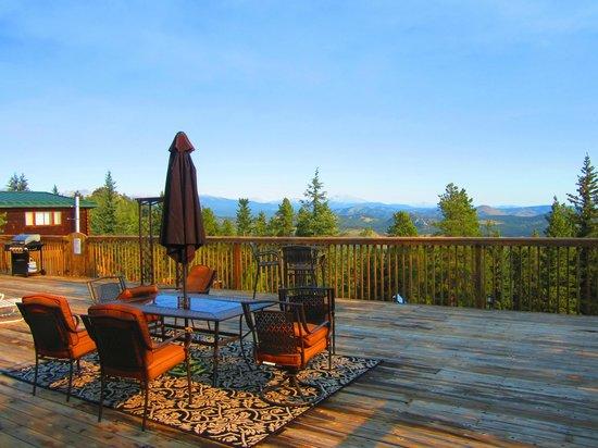Eldora Lodge : Breathtaking views of the Rockies.