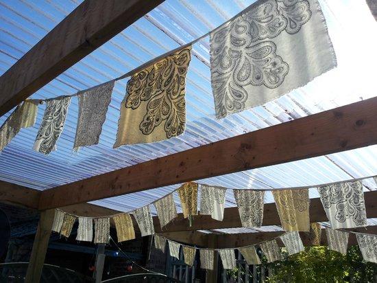 Milgi: outside flags