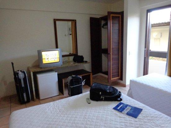 SESC Enseada Praia Hotel: Quarto