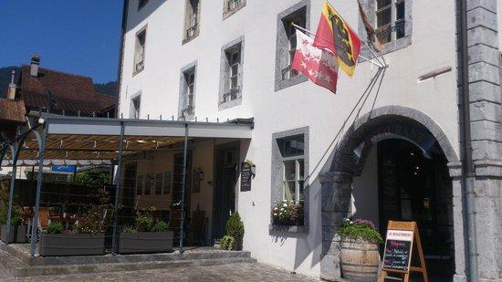 Restaurant Stadthaus  Unterseen - Terrasse