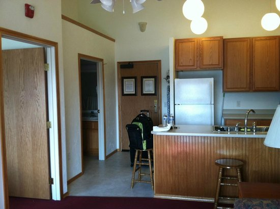 Juneau Hotel : Kitchen area