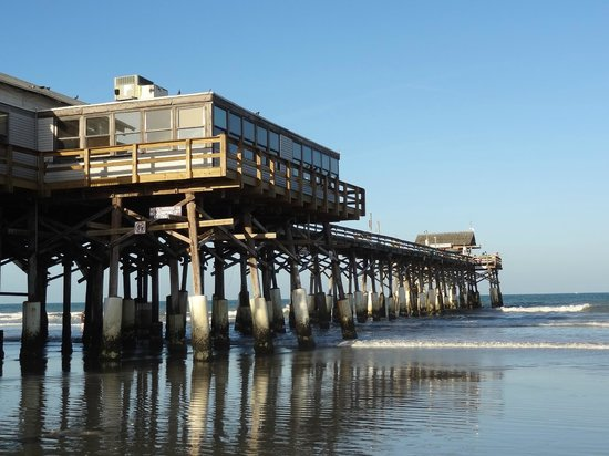 Cocoa beach pier picture of cocoa beach pier cocoa for Cocoa beach pier fishing
