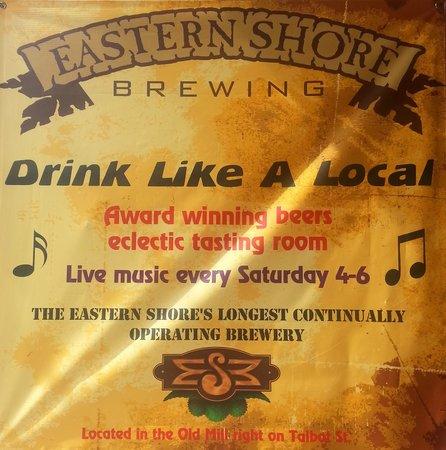 Eastern Shore Brewing: ESB- Drink Like A Local