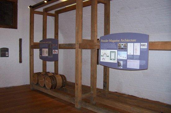 Fort York National Historic Site: Inside Gunpowder Room