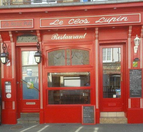 Le clos Lupin: devanture restaurant