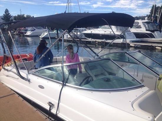 water skiing picture of lake tahoe boat rides south lake tahoe rh tripadvisor ie
