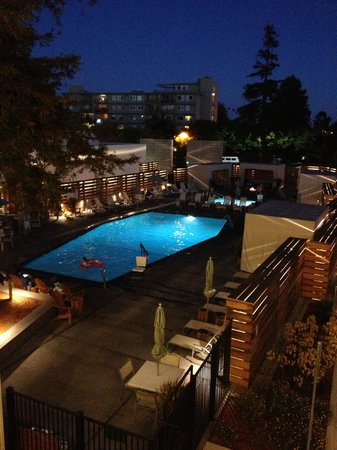 Hotel Paradox, Autograph Collection: Pool at night from 3rd floor